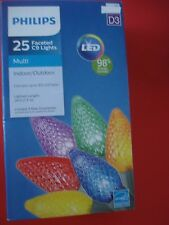 PHILIPS CHRISTMAS FACETED LED STRING LIGHTS MULIT COLOR LIGHTS NEW
