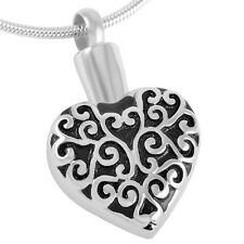 Cremation Jewellery for ashes, Memorial jewellery pendant necklace keepsake