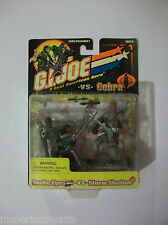 GI JOE: G.I.JOE VS COBRA  SNAKE EYES VS STORM SHADOW MOC FREE SHIPPING!