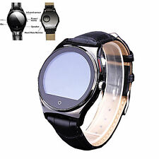 Round Heart Rate Bluetooth Smart Watch For Samsung Galaxy S7 Edge S6 Plus S5 LG