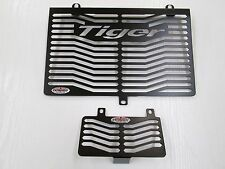 TIGER 955i (01-06) RADIATOR & OIL COOLER PROTECTOR COVER  T011TGPCB T011OCPCB
