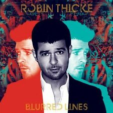 Blurred Lines - Robin Thicke (2013, CD NEUF) Clean Version