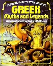NEW - Usborne Illustrated Guide to Greek Myths and Legends