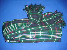 New Active Men Scottish Wear Mackenzie Tartan 3.5 Yards Bagpipers Long Fly Plaid