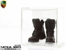 """1/6 Scale ACI-750B Army Male Tactical Boots Black Color F 12"""" Action Figures"""