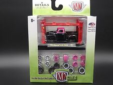 M2 Machines 1954 Chevy 3100 Truck Pink/Black Model Kit Release #11 COLLECTIBLE