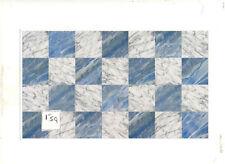 Faux Marble 34728 Tile floor sheet dollhouse 1 sheet 1/12 scale World & Model