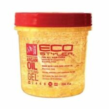 Eco Styler Moroccan Argan Oil Styling Hair Gel Maximum Hold For All Hairs 8oz