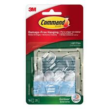 Command Clear Small Outdoor Light Clips (17017CLR-AW)