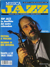 JAZZ 1 1993 Gianluigi Trovesi Red Mitchell Joe Lovano Thelonious Monk Enja