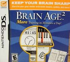 Brain Age 2: More Training in Minutes a Day (DS) Train Your Brain! **NEW**