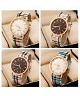 Women's/Girls/Teenagers Plaid/Checked Strap, Casual, Contemporary Dress Watch