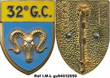 32° Groupement de Camp, sigle G.C. bélier, BOUSSEMART 2092 (7025)