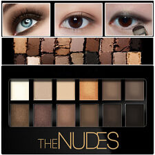Naked Natural Eye Shadow Eye Cosmetic , Shimmer Eyeshadow Palette 12 Shades 2017