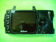 GENUINE NIKON D40X LCD WITH BACK CASE PARTS FOR REPAIR