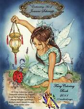 Fairy & Angel  2011 Coloring Book 8x11 Fantasy 10 pages crayola & paint  SCHEMPP