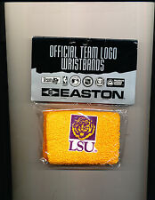 LSU Tigers Licensed NCAA College Team Logo Fan GOLD TIGER Wristband CASE of 12