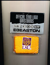 1 - LSU Tigers Licensed NCAA College Team Logo Fan GOLD TIGER Wristband