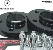 2 Pc BLACK ANODIZED MERCEDES E CLASS 02-2016 Wheel Spacer 20mm # AP-5112-66-20BK