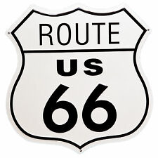 "11"" US Route 66 Shield Tin Sign Man Cave Bar Garage Wall Decor Highway Road New"
