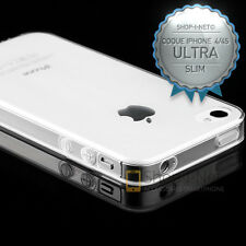 COQUE  HOUSSE★ SILICONE  EXTRA SLIM 0.3MM★TRANSPARENT COMPATIBLE  IPHONE 4 /4S