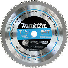 Makita A-95875 7-1/4-inch 64T Stainless Steel Cutting Saw Blade, 5/8-inch Arbor