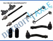 Brand New 10-pc Complete Front Suspension Kit for Kia Sportage + Hyundai Tucson