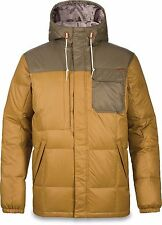 Dakine FREMONT II DOWN Mens Zip/Snap Jacket L Buckskin Capers NEW 2017 Sample