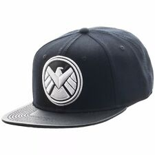 Marvel Shield Logo Snapback Marvel Comics Licensed Hat