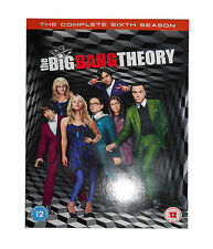 The Big Bang Theory - Series 6 - Complete (DVD, 2013, 3-Disc Set, Box Set)new