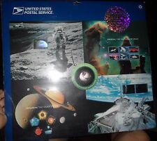 Rare - USPS 1st Hologram Press Sheet Space Achievement and Exploration - 2000