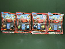 4 Blister 3 mini Figurine Figure Disney Pixar CARS Toppers Embout crayon FunBeeZ