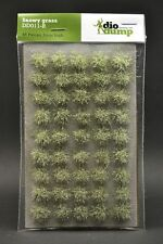 DioDump DD011-R 6mm realistic grass tufts SNOWY GRASS diorama scenery 45 pcs