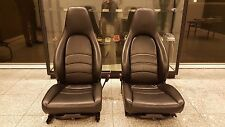 Porsche 911 993 Turbo (1994-98) seats set (driver+passenger) OEM Genuine