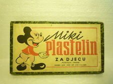 MARVELOUS  VINTAGE  MICKEY MOUSE  BOX / CARTON  1954  ZAGREB  EX  RARE