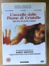 Dario Argento BIRD WITH THE CRYSTAL PLUMAGE | 1970 Giallo | OOP rare UK 2.35 DVD