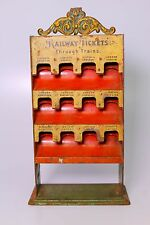 EXTREMELY SCARCE MARKLIN ENGLISH RAILWAY TICKET BOOTH