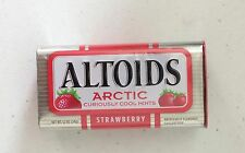 X1 Altoids Arctic Curiously Cool Mints Strawberry Tin 51 Mints (34 g)