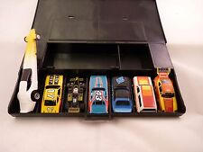 AURORA RACE CASE  AND 7 AURORA / AFX CARS  WOW ASSORTMENT (D) VINTAGE