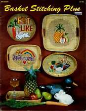 BASKET STITCHING Patterns CROSS STITCH Mallard Duck PINEAPPLE Fruit WELCOME
