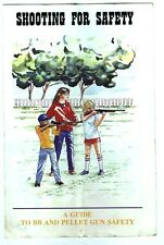 Vintage Guide to BB and Pellet Gun Safety Booklet