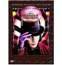 DVD La fabbrica di cioccolata (2 dvd) di Tim Burton