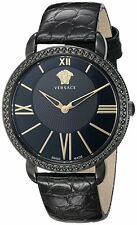 Versace Women's M6Q60D008 S009 Krios Black IP Stainless Steel Wristwatch