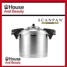 Scanpan Pressure Cooker 8L 24cm Stainless Steel Highest Safety Rating -RRP $419