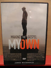 Making the Gospel My Own DVD by James Macdonald VG+ Condition
