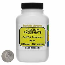 Calcium Phosphate [Ca3(PO4)2] 99.9% ACS Grade Powder 8 Oz in a Bottle USA