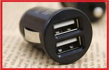 MICRO MINI CARICATORE doppio USB ACCENDISIGARI USB / IPHONE mp3 MP4