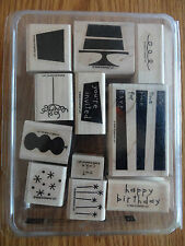 Stampin Up Eat Cake Stamp Set Two-Step Stamping 2006