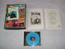 It came from the Desert  RAILROAD TYCOON  Defender of the Crown   PC DOS  USK 18