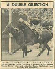 1953 Tommy Lowrey And Albert Taylor Dead Heat August Stakes Windsor Yorktown